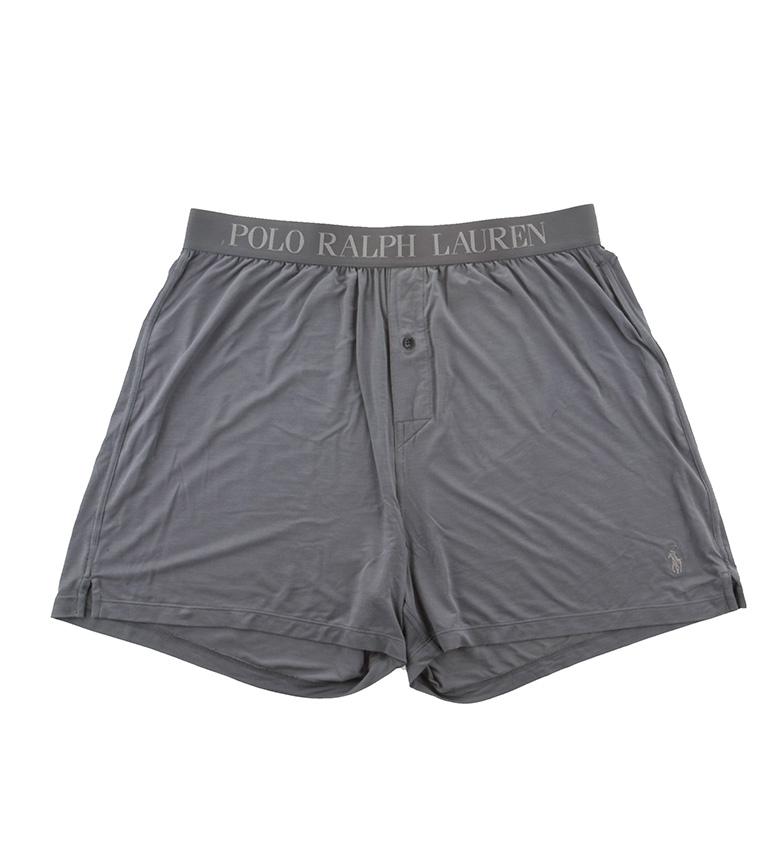 Comprar Ralph Lauren Boxer de algodão cinza