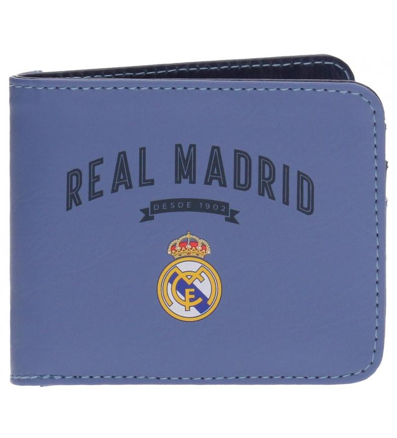 Comprar Real Madrid Portafoglio vintage RM Lilla -10,5x8,5x1cm-