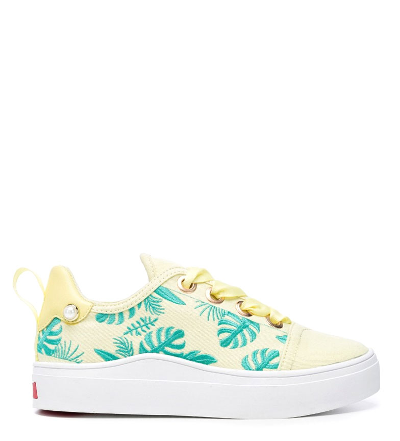 Comprar rebèlle lovers Wave Shoes Leaves yellow