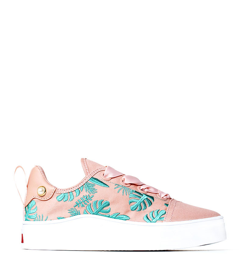 Comprar rebèlle lovers Wave Shoes Leaves pink