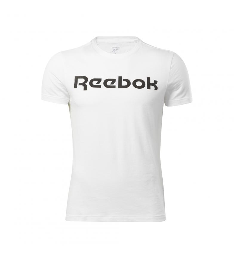 Comprar Reebok T-shirt à logo linéaire de la série Graphic, blanc