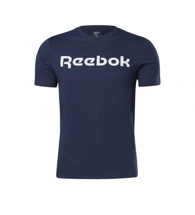 Comprar Reebok T-shirt con logo lineare della serie grafica blu