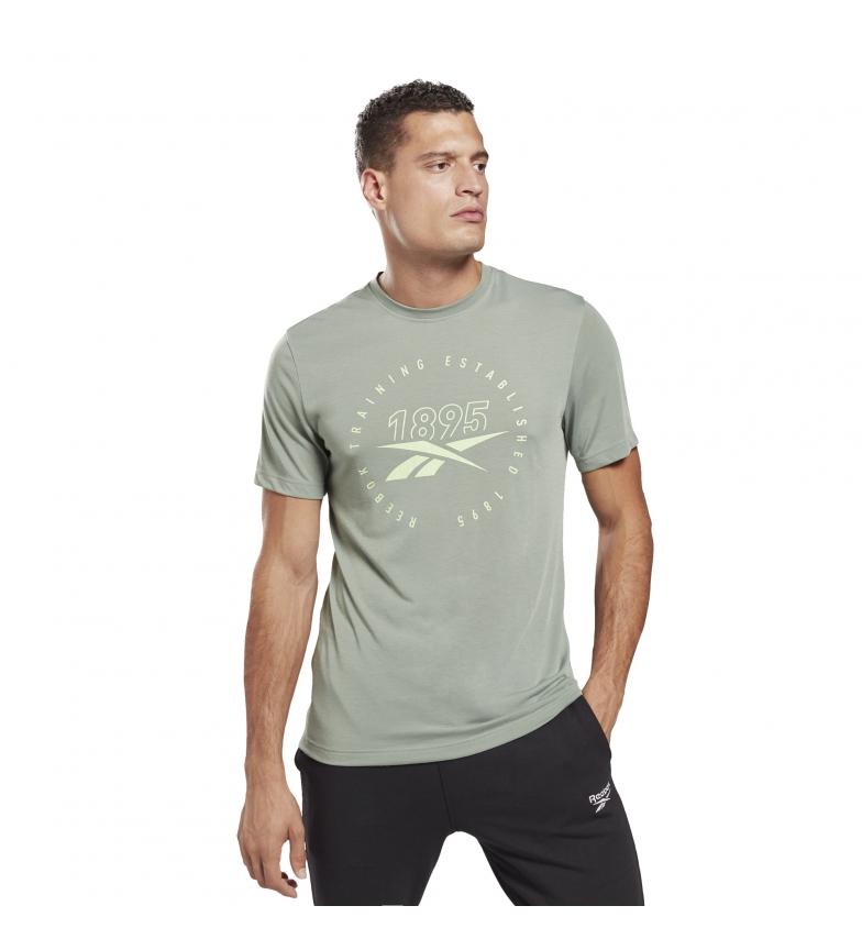 Comprar Reebok Camiseta Graphic Series Speedwick verde
