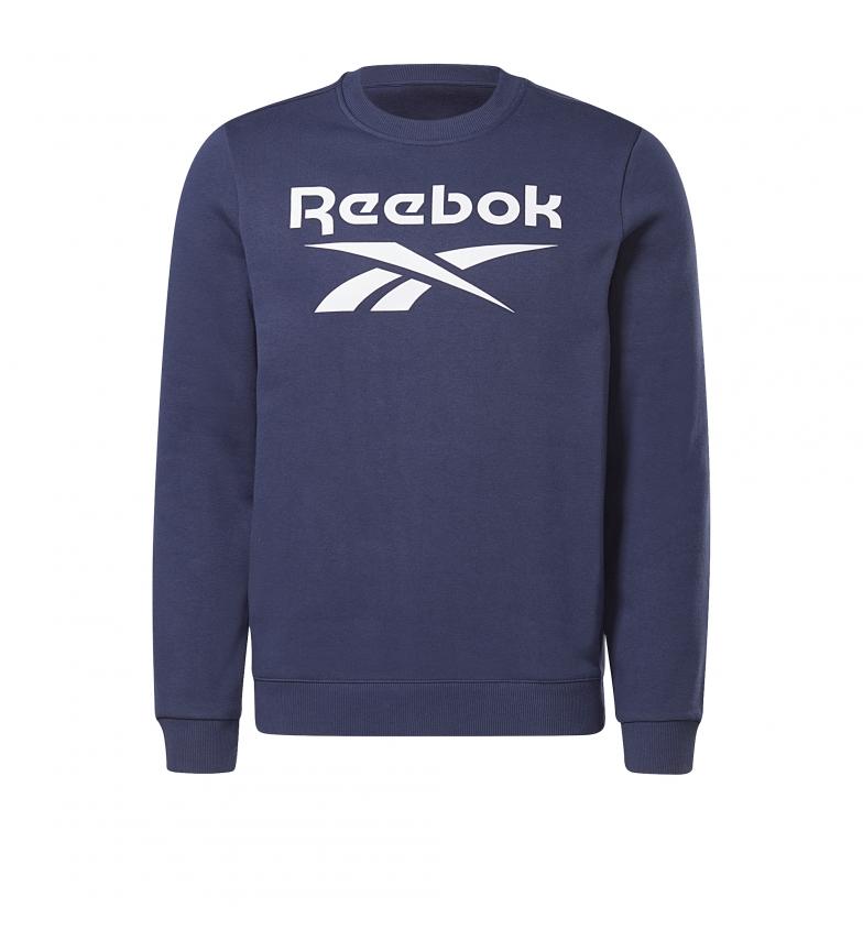 Comprar Reebok Reebok Identity Fleece sweatshirt à col ras du cou bleu
