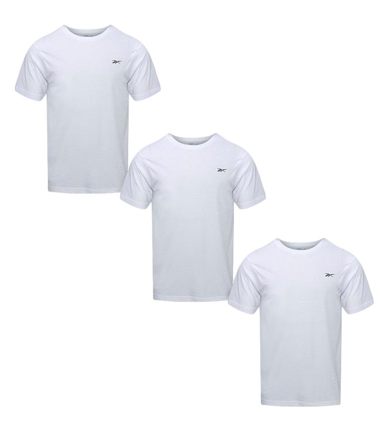 Comprar Reebok Lot de 3 T-shirts Santo blancs