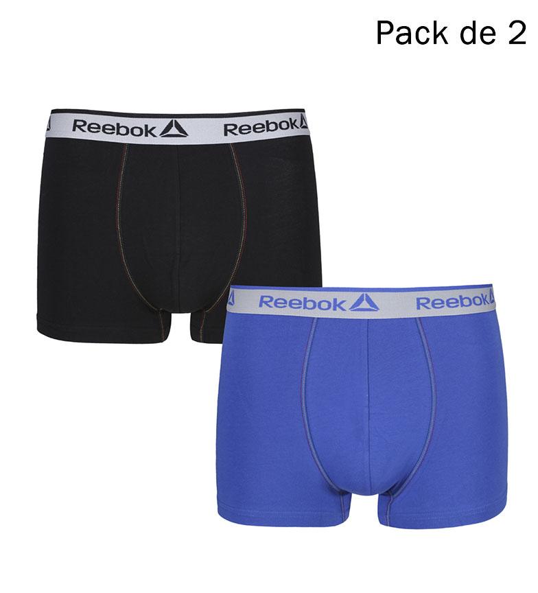 Comprar Reebok Confezione da 2 boxer neri Billy, cobalto