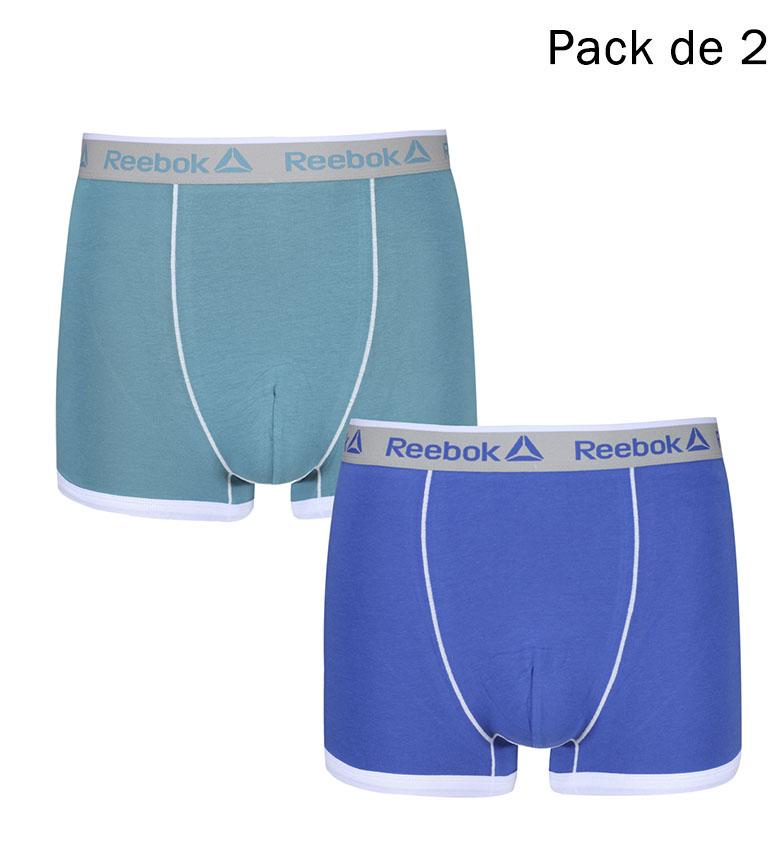 Comprar Reebok Confezione da 2 boxers Oliver mist mist, cobalt