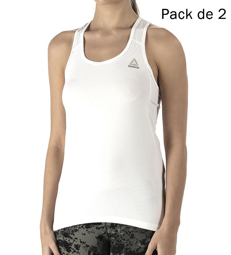 Comprar Reebok Confezione da 2 T-shirt bianche Cortney