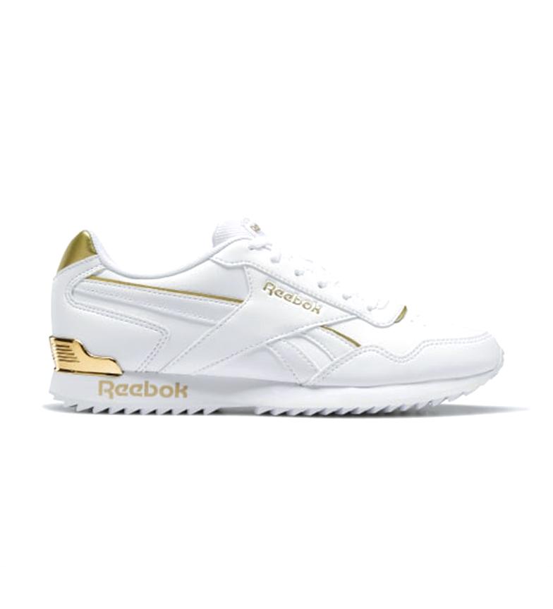 Comprar Reebok Baskets Royal Glide Ripple Clip blanc, or
