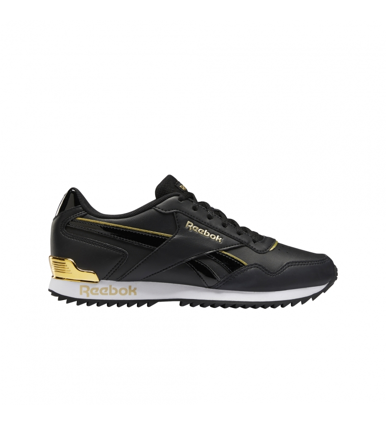 Reebok Sneakers Reebok Royal Glide Ripple Clip preto, dourado