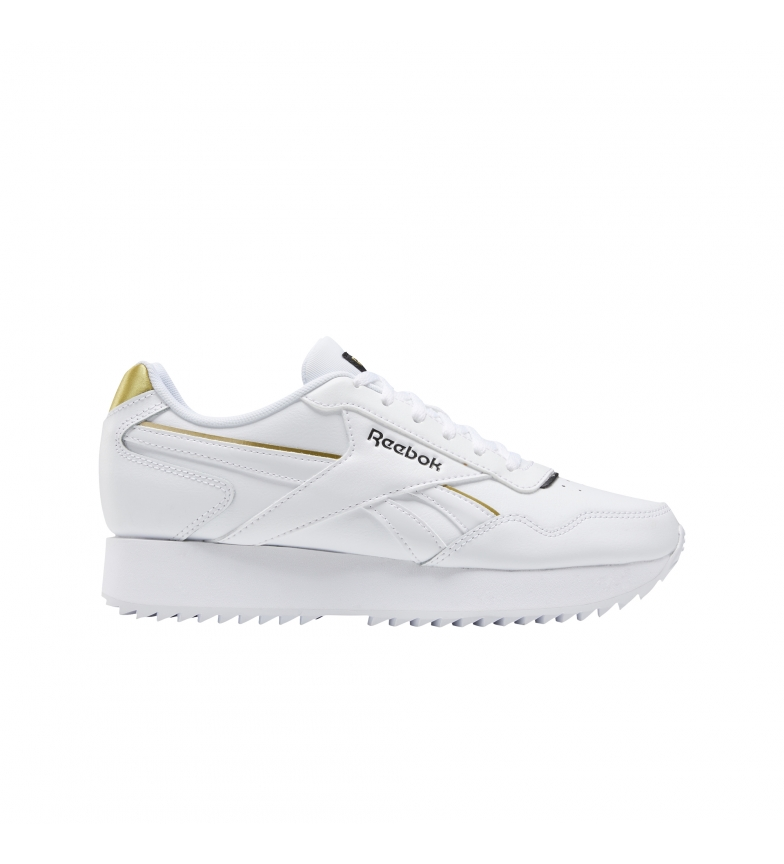 Comprar Reebok Royal Glide Ripple Double leather sneakers white, gold
