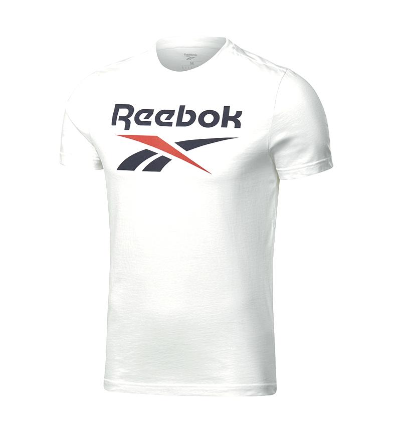 Comprar Reebok Camiseta da Série Reebok Graphic Satcked branca