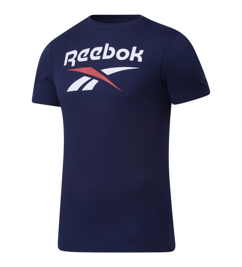 Comprar Reebok Reenok Stacked Graphic Series T-Shirt bleu