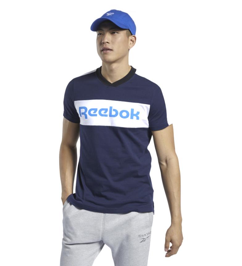 Comprar Reebok Training Essentials T-Shirt Linear Logo Graphic navy