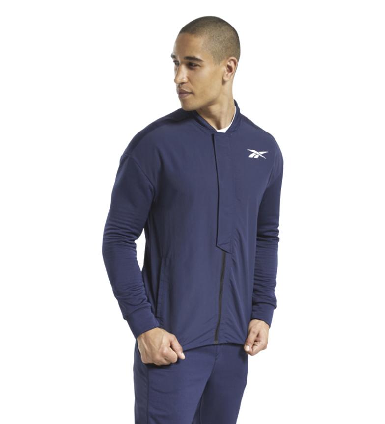 Comprar Reebok Speedwick Layering Tracksuit Jacket blue