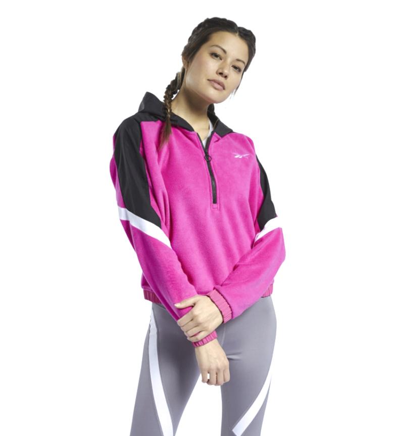 Comprar Reebok Sweatshirt MYT Quarter 1/4 Zip rosa, preto