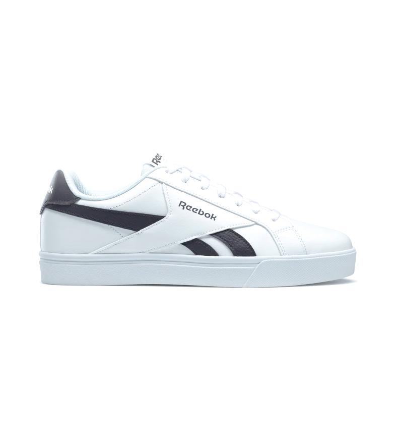 Reebok Chaussures en cuir Royal complete 3.0 blanc, bleu
