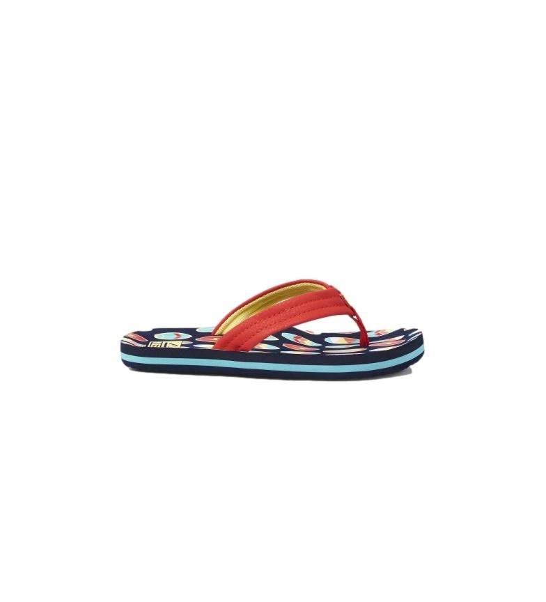 Comprar Reef Ahi Surfer red flip flops