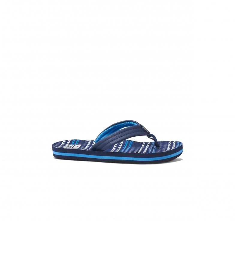 Comprar Reef Ahi Water blue flip flops