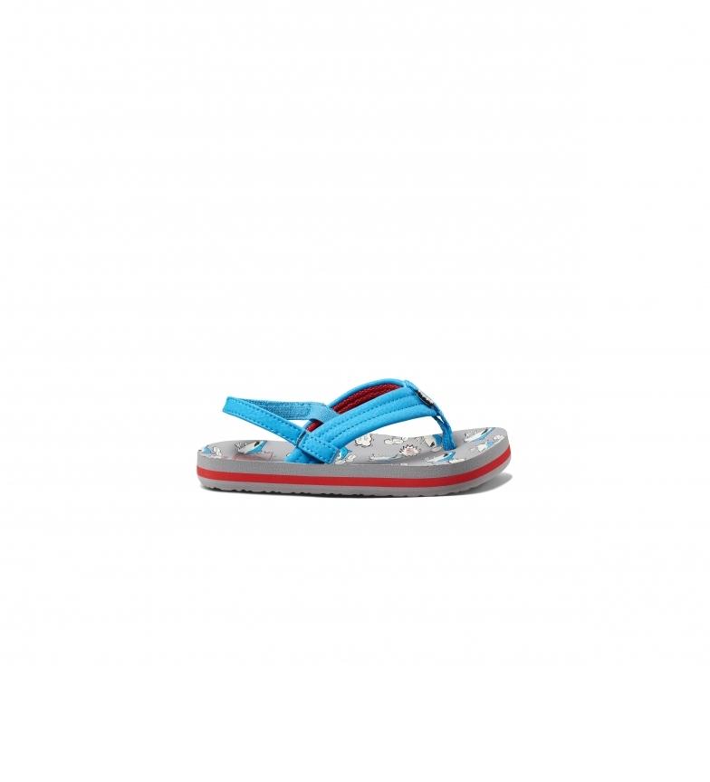 Comprar Reef Flip flops K Little Ahi Nom Nom azul, cinza