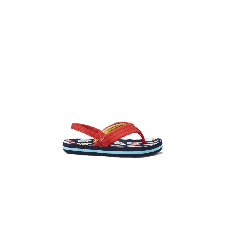 Comprar Reef Flip Flops K Little Ahi Red Surfer vermelho, Marinha