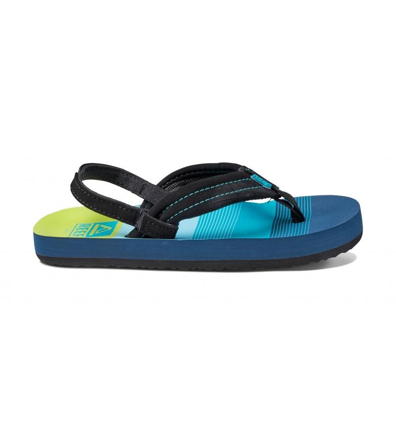 Comprar Reef Flip flops K Little Ahi green, turquoise