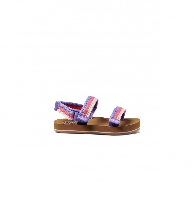 Comprar Reef Little Ahi Convertible Flip Flops lilás