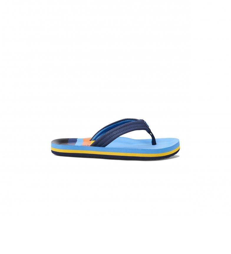 Comprar Reef Ahi Hawaii chinelos de dedo azuis