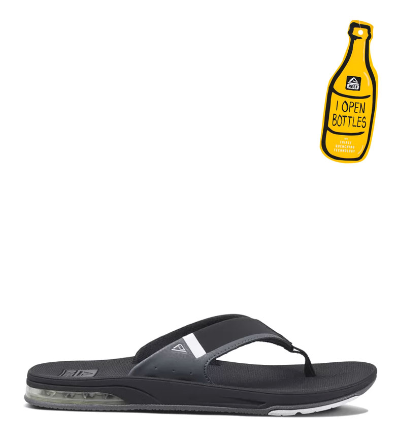 Comprar Reef Fanning Low Slippers black, white