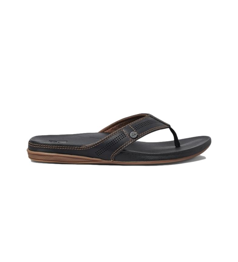 Comprar Reef Sandálias de couro Almofada Bounce Lux preto, castanho