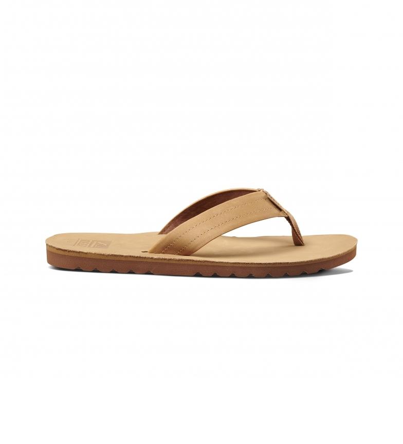 Comprar Reef Sandálias de couro Voyage Le bronze