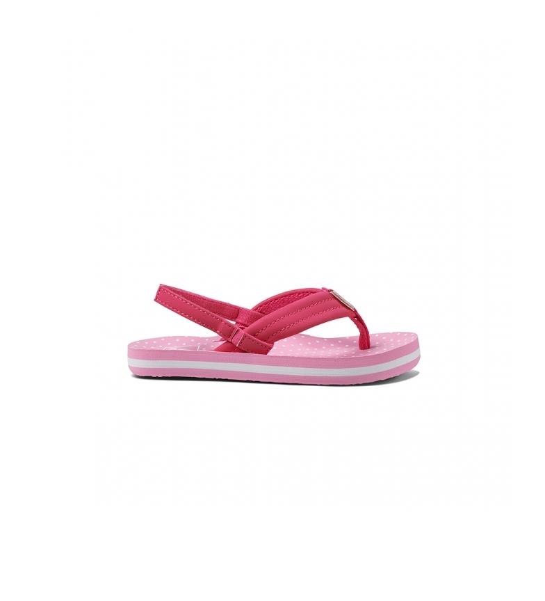 Comprar Reef Flip Flops K Little Ahi Polka Dot pink
