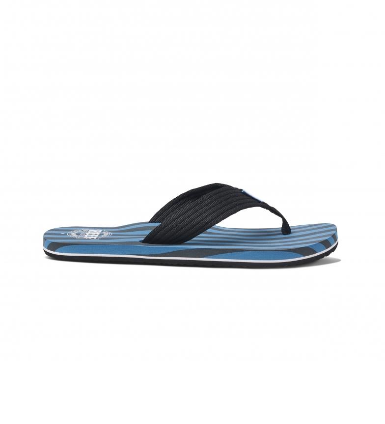Comprar Reef Sandálias Listras originais preto, azul