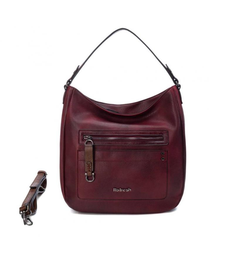 Refresh Handbag 083394 maroon -28x31x5cm