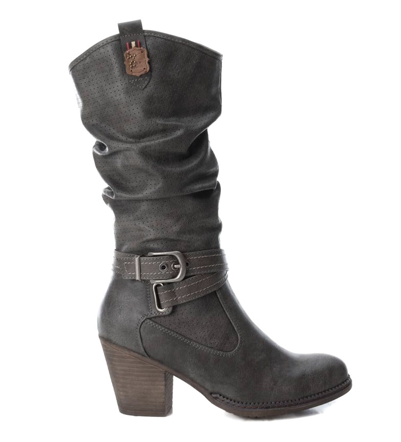 Comprar Refresh Grey Sarai boots -Heel height: 8cm