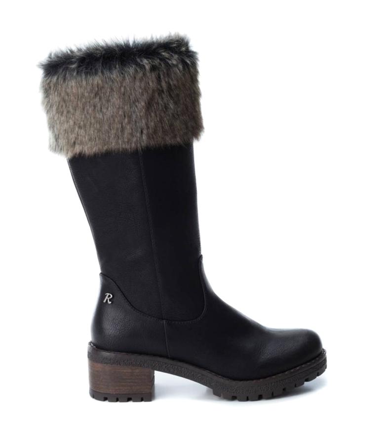 Comprar Refresh Stivali 64661 nero-Altezza tacco: 5 cm-