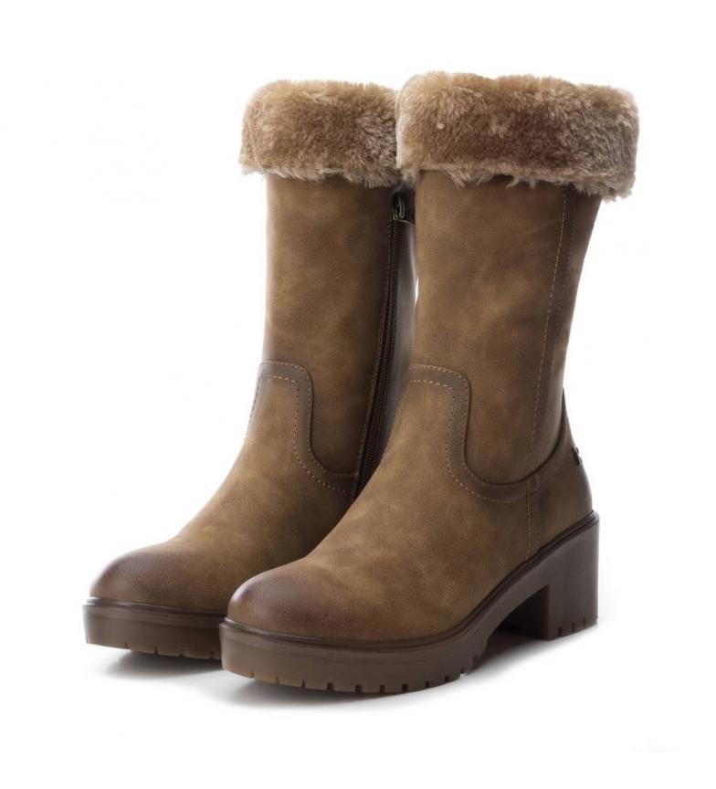 Comprar Refresh Other heel boot 064652 camel -Heel height: 6cm-