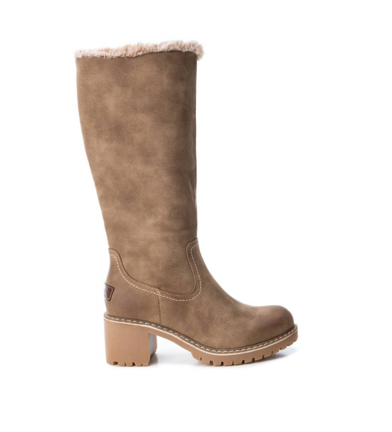 Comprar Refresh Botas 69137 taupe - Altura do calcanhar: 6 cm