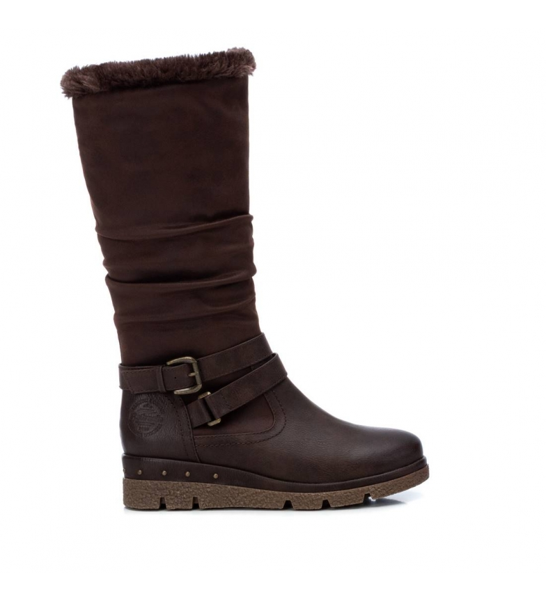 Comprar Refresh Boots 072411 brown -Wedge height: 4 cm