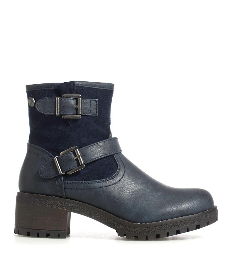 Comprar Refresh Mati navy boots -heel height: 5cm-