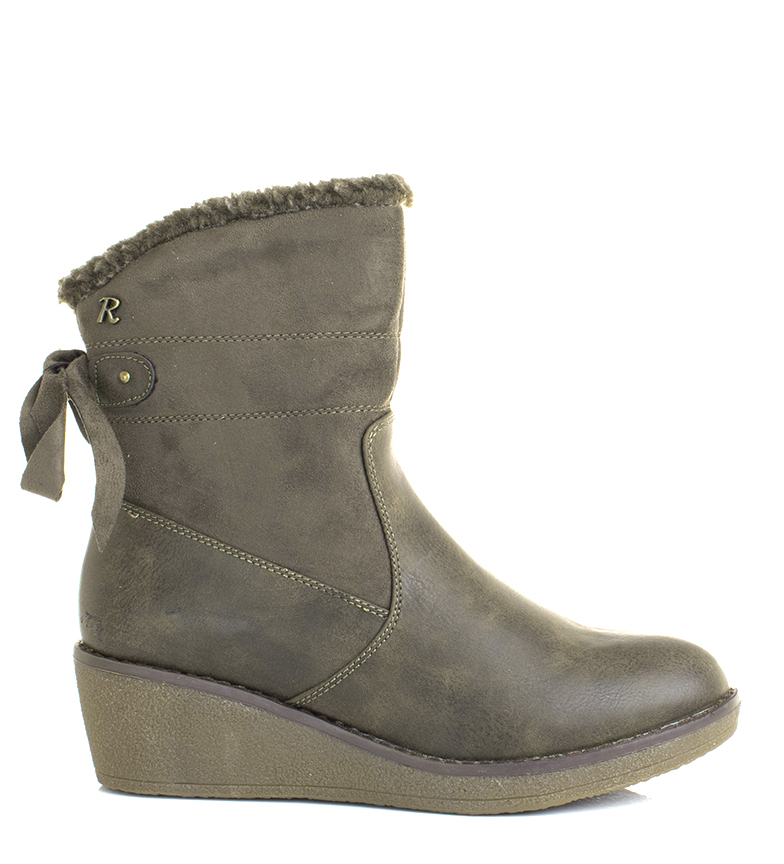 Comprar Refresh 64653 persimmon boots - Wedge height: 5cm