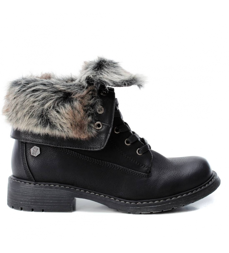 Comprar Refresh Flat ankle boot lace 064665 black
