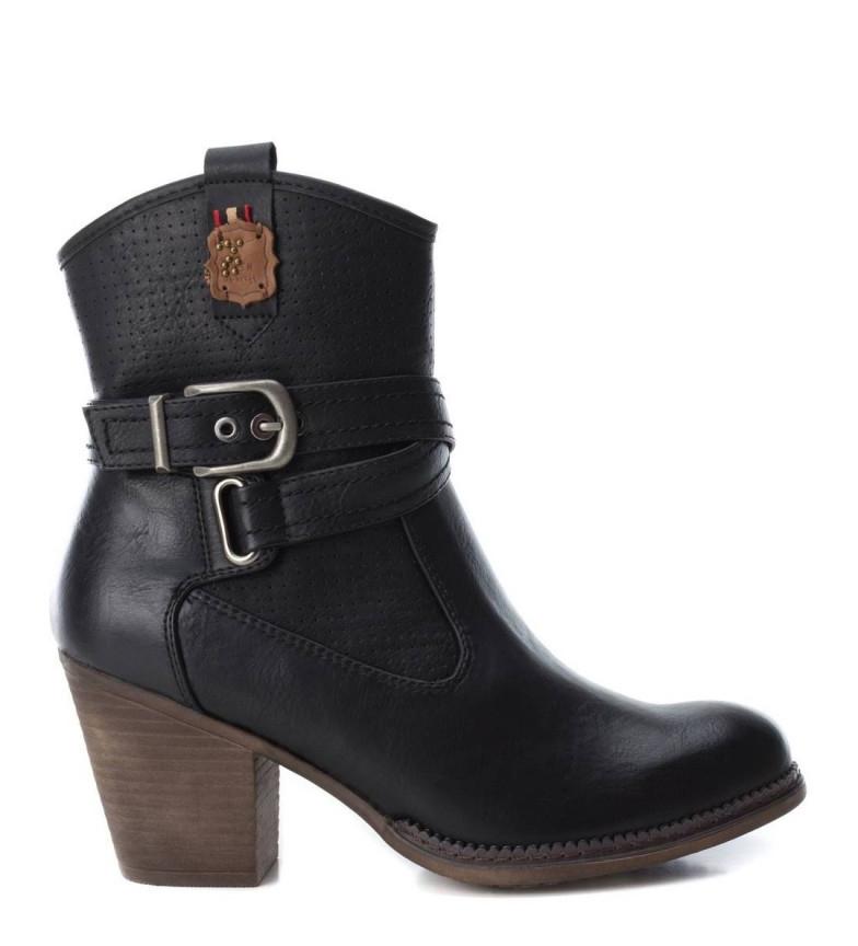 Comprar Refresh Botas londrinas pretas - Altura do calcanhar: 7.5cm