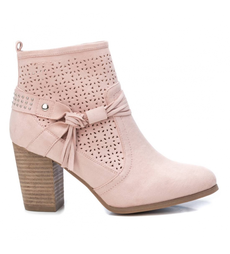 Comprar Refresh Bottines 069502 nude - Hauteur du talon : 8cm