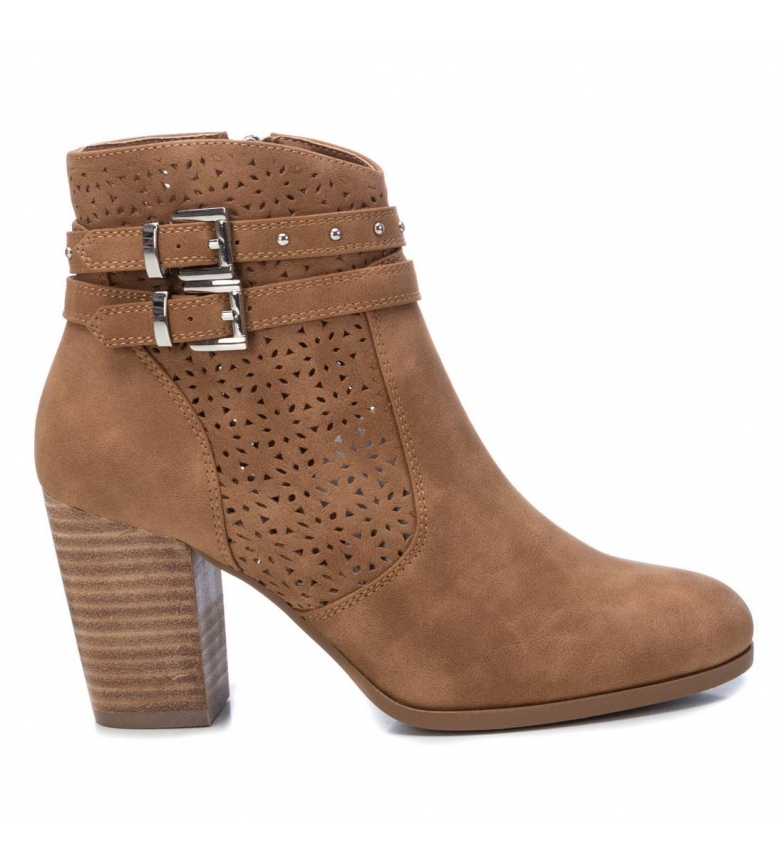 Comprar Refresh Ankle boots 072263 brown -heel height: 8cm
