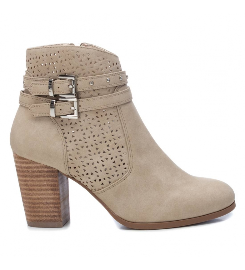 Comprar Refresh Bottines 072263 beige - hauteur du talon : 8cm