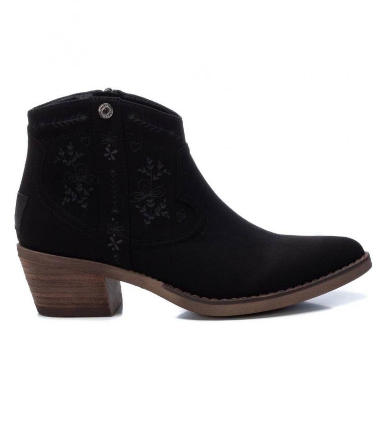 Refresh Botas de tornozelo 072472 preto -Altura do calcanhar: 5cm