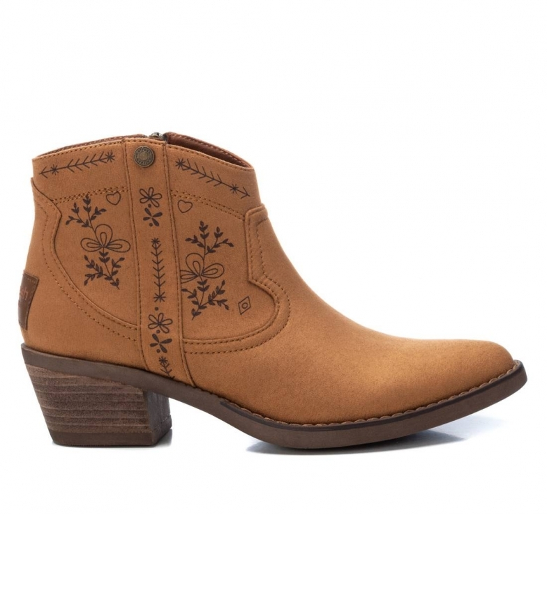 Comprar Refresh Ankle boots 072472 camel -Heel height: 5cm