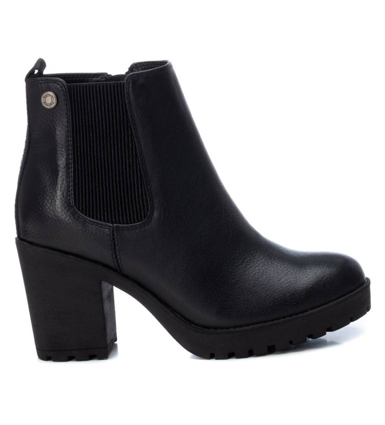 Refresh Ankle boots 072560 black -heel height: 8cm