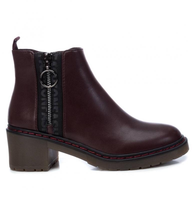Comprar Refresh Botas de tornozelo 072572 Borgonha - Altura do calcanhar: 6cm